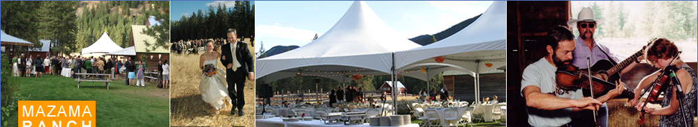 Weddings at Mazama Ranch House